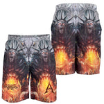 Official Acrania Tyrannical Hierarchy Shorts - Crowdkill Apparel Death Metal Deathcore Hardcore Slam Merchandise