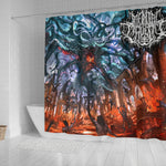 Official Mental Cruelty Purgatorium Shower Curtain - Crowdkill Apparel Death Metal Deathcore Hardcore Slam Merchandise