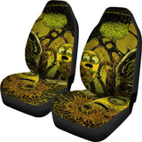 Official Bleeding Spawn Xenominions Car Seat Covers - Crowdkill Apparel Death Metal Deathcore Hardcore Slam Merchandise