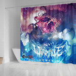 Official Wormhole Genesis Shower Curtain