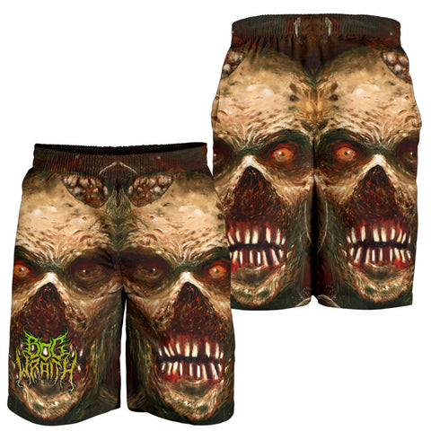 Official Bog Wraith Viscera Shorts - Crowdkill Apparel Death Metal Deathcore Hardcore Slam Merchandise
