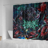 Official Bleeding Heaven Evolutionary Descendant of Brutality Shower Curtain