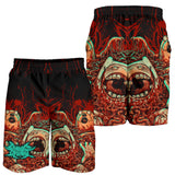 Official Cryogenic Defilement Slam Time Shorts - Crowdkill Apparel Death Metal Deathcore Hardcore Slam Merchandise