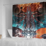Official Gamma Sector Nex Omne Shower Curtain