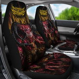Official Architect Of Dissonance Realm Of The Deviant Throne Car Seat Cover - Crowdkill Apparel