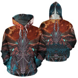 Official Gamma Sector Nex Omne Zip-Up - Crowdkill Apparel Death Metal Deathcore Hardcore Slam Merchandise