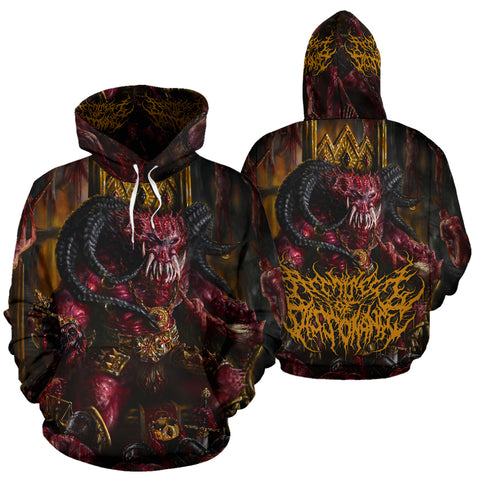 Official Architect Of Dissonance Realm Of The Deviant Throne Pullover