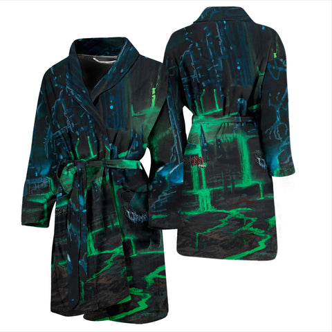 Official Wormhole Genesis Chamber Bathrobe