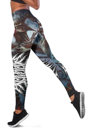 Official Shrine Of Malice Malignance Leggings - Crowdkill Apparel Death Metal Deathcore Hardcore Slam Merchandise