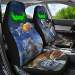 Official Gorepot A Friend With Weed Is A Friend Indeed Car Seat Cover - Crowdkill Apparel Death Metal Deathcore Hardcore Slam Merchandise