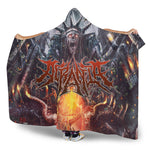 Official Acrania Tyrannical Hierarchy Hooded Blanket - Crowdkill Apparel Death Metal Deathcore Hardcore Slam Merchandise