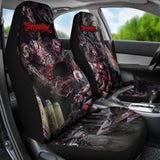 Official Slamentation Procreating A New Body Art Car Seat Cover - Crowdkill Apparel Death Metal Deathcore Hardcore Slam Merchandise