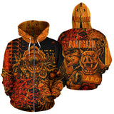 Official Boargazm Space Pigs Zip-Up