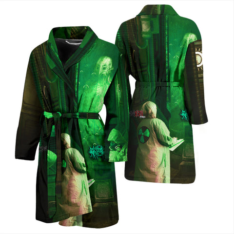 Official Gamma Sector Elements Of Contamination Bathrobe - Crowdkill Apparel Death Metal Deathcore Hardcore Slam Merchandise