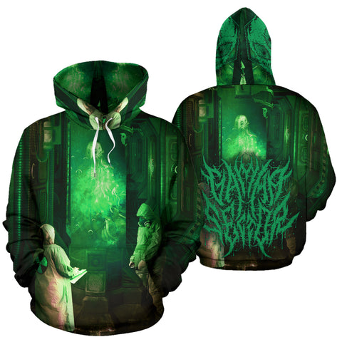 Official Gamma Sector Elements of Contamination Pullover - Crowdkill Apparel Death Metal Deathcore Hardcore Slam Merchandise
