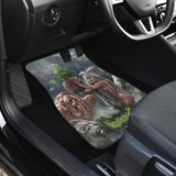 Official Gorepot In Pot We Trust Car Floor Mats - Crowdkill Apparel Death Metal Deathcore Hardcore Slam Merchandise