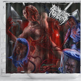 Official Abominable Putridity The Anomalies Of Artificial Origin Shower Curtain - Crowdkill Apparel Death Metal Deathcore Hardcore Slam Merchandise