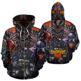 Official District 105 The Dawnbreaker Zip-Up - Crowdkill Apparel Death Metal Deathcore Hardcore Slam Merchandise