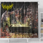 Official Vulvodynia Psychosadistic Design Shower Curtain