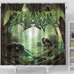 Official Acrania The Beginning of the End Shower Curtain - Crowdkill Apparel Death Metal Deathcore Hardcore Slam Merchandise