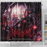 Official Vulvodynia Finis Omnium Ignorantiam Shower Curtain