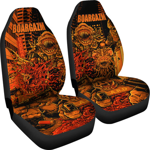 Official Boargazm Space Pigs Car Seat Cover