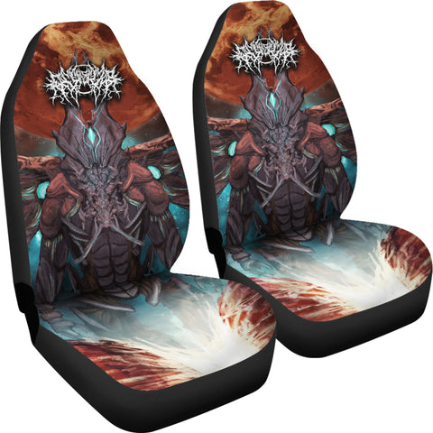 Official Gamma Sector Nex Omne Car Seat Cover - Crowdkill Apparel Death Metal Deathcore Hardcore Slam Merchandise