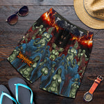 Official Bookakee Ignominies Shorts - Crowdkill Apparel Death Metal Deathcore Hardcore Slam Merchandise