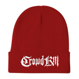 Crowdkill Beanie - Crowdkill Apparel Death Metal Deathcore Hardcore Slam Merchandise