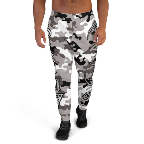 Official Vulvodynia Grey Camo Logo Sweatpants