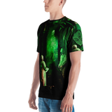 Official  Gamma Sector Elements of Contamination  All Over Print Tee - Crowdkill Apparel