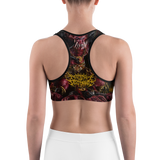 Official Architect of Dissonance  Realm Of The Deviant Throne Sports bra