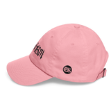 Crowdkill X Pink Edition Dad Hat - Crowdkill Apparel Death Metal Deathcore Hardcore Slam Merchandise