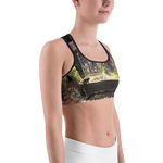 Official Vulvodynia Psychosadistic Design Sports Bra