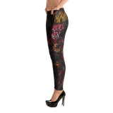 Official Architect Of Dissonance Realm Of The Deviant Throne Leggings - Crowdkill Apparel