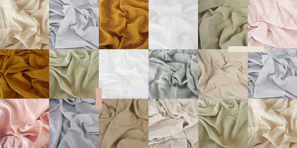 The warmth guide to our fabrics