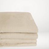 Muslin Cotton - Clay Fitted Sheet