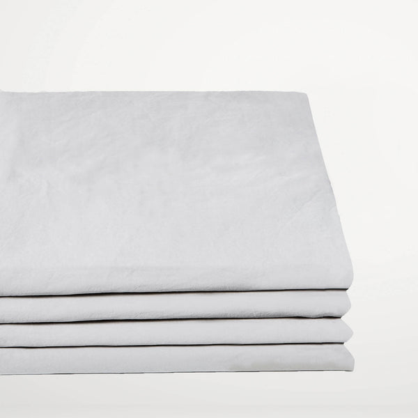 Percale de Coton - Drap-housse Chrome