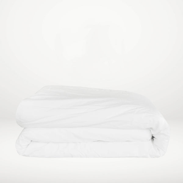 Percale de coton - Housse de couette Whisper White