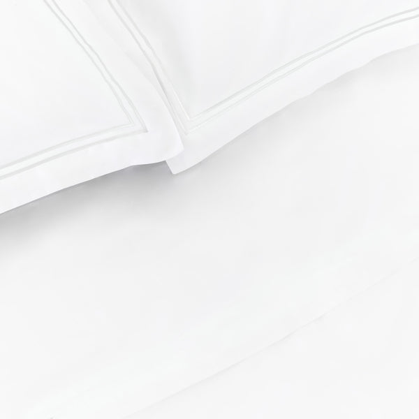 Luxe Cotton - Whisper White Pillowcase Set