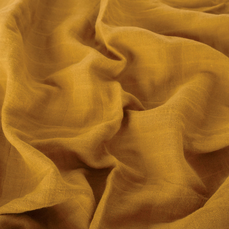 Muslin Cotton Crib - Amber Filled Blanket