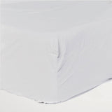 Cotton Kids - Chrome Fitted Sheet