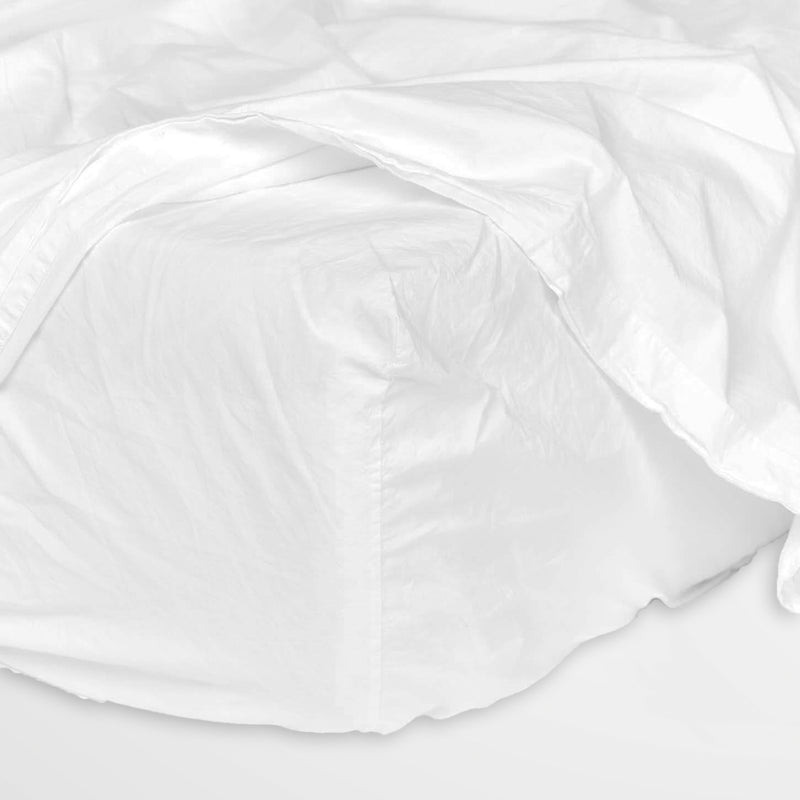 Cotton Kids - Whisper White Fitted sheet