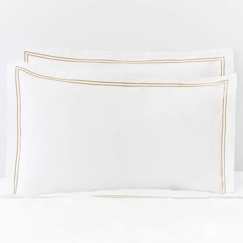 Luxe Cotton - Champagne Pillowcase Set