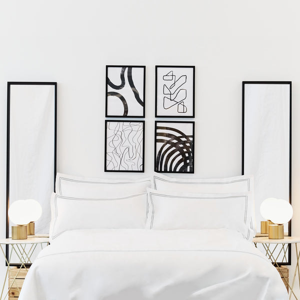 Luxe Cotton - Chrome Pillowcase Set