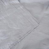 Washed linen - Chrome Flat Sheet