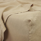 Coco Linen™ - Latte Fitted sheet