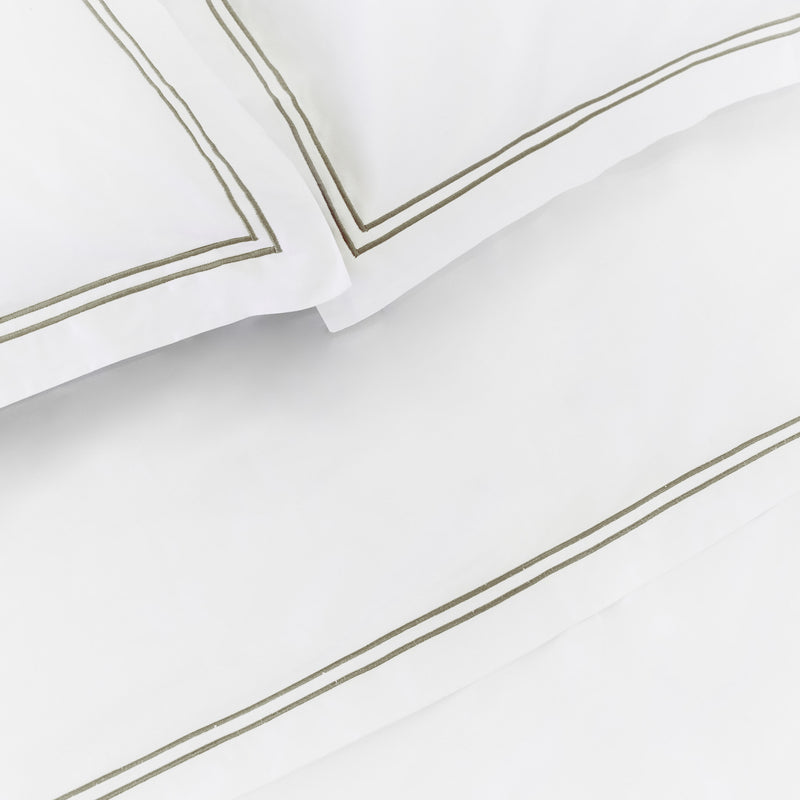 Luxe Cotton - Moss Pillowcase Set