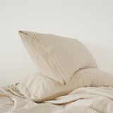Muslin Cotton - Clay Pillowcase Set