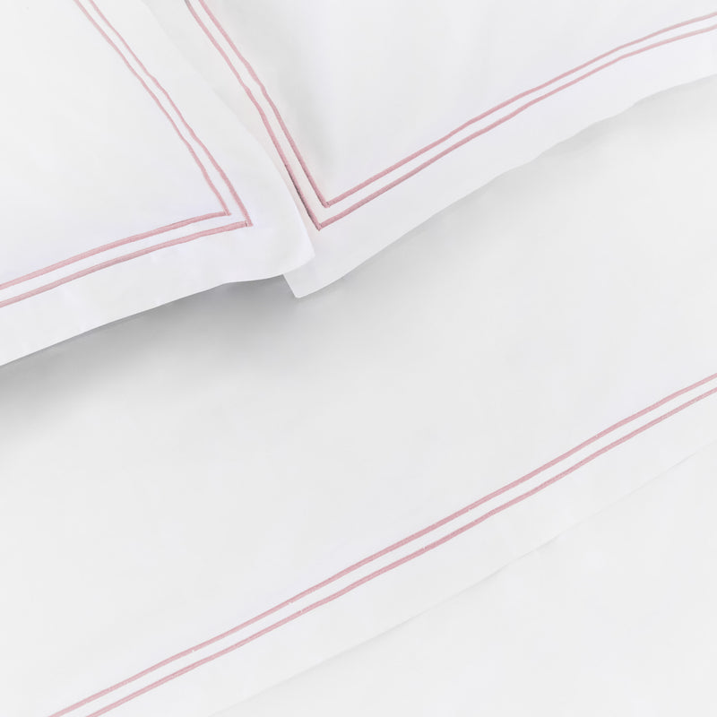 Luxe Cotton - Rose Flat Sheet